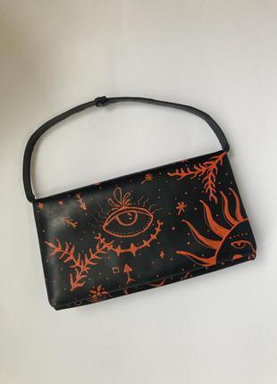 Дизайнерская кожаная сумка