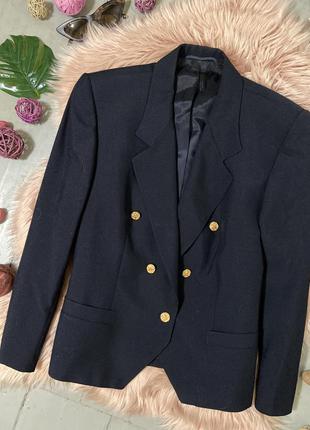 Распродажа!!! актуальный укороченный пиджак жакет блейзер с шерстью 45% №36