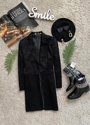 Распродажа!!! актуальный удлиненный пиджак №14