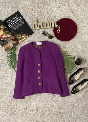 Распродажа!!! винтажный шерстяной пиджак №50