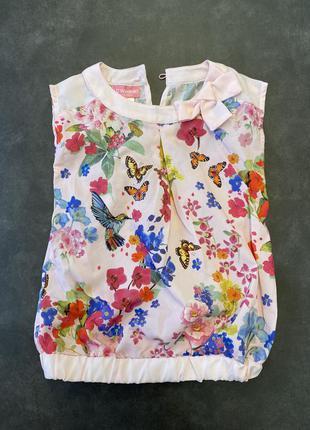 Lc waikiki нарядна блузка 3-4 р