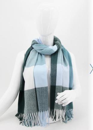 🔥🔥скидочка турецкие тёплые кашемировые шарфы пледы клетка