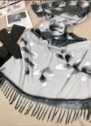 💋скидочка тёплые кашемировые турецкие шарфы пледы