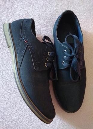 Туфли подростковые под замшу