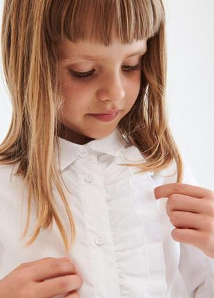 Школьная рубашка reserved польша, размер 152.