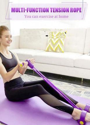Тренажер для фитнеса pull reducer. цвет: фиолетовый