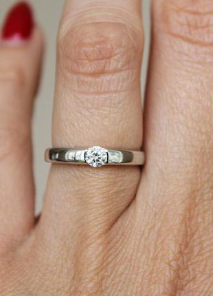 Серебряное кольцо анис р.16
