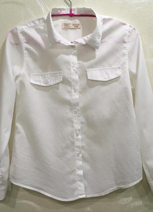 Рубашка блузка zara для девочки на 11-12 лет