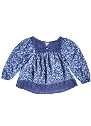 Детская легкая летняя вискозная блуза туника h&m 3-4 года