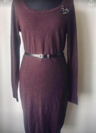 Эффектное платье красивого цвета