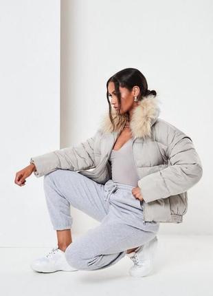 Зимняя куртка missguided,uk 8