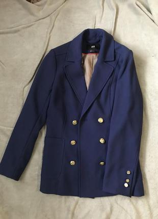 Пиджак от h&m в стиле balmain