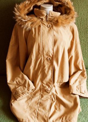 Гірчична куртка 42-46р