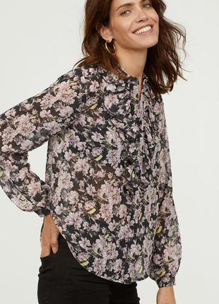 """Красивая блуза """"h&m"""", размер 40."""