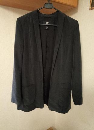 Пиджак без пуговиц