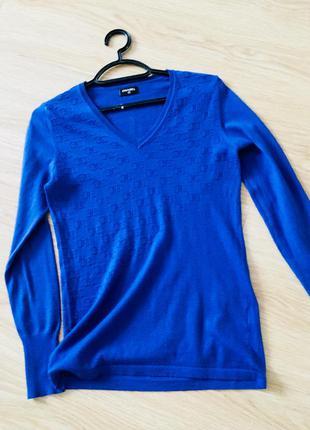 Ультрамариновый свитер chanel