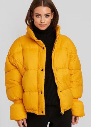 Куртка na-kd осенне-зимняя, eur 40