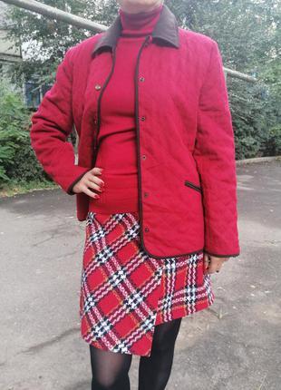 🌹стеганная фирменная куртка пиджак gelco