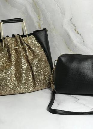 Распродажа комплект сумка и клатч