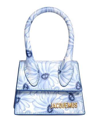 Мини-сумка с цветочным принтом le chiquito jacquemus