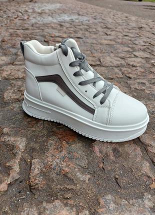 Высокие кеды 🌿 кроссовки кеди ботинки на платформе осение деми