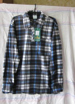 Рубашки мужские байковые 54-62 размеры
