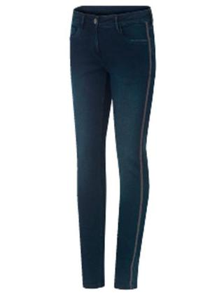 S 38 eur. стрейч джинси з лампасами blue motion