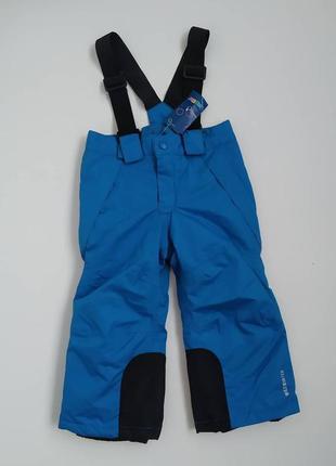 Зимние термо штаны lupilu полукомбинезон