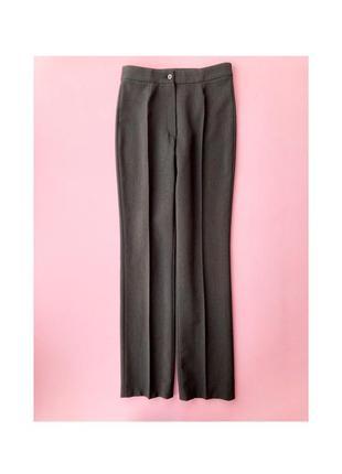 Класичні сірі прямі брюки з стрілками esprit s, 36, классические серые прямые брюки со стрелками