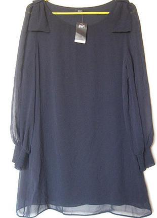 Платье вечернее искусственный шелк короткое