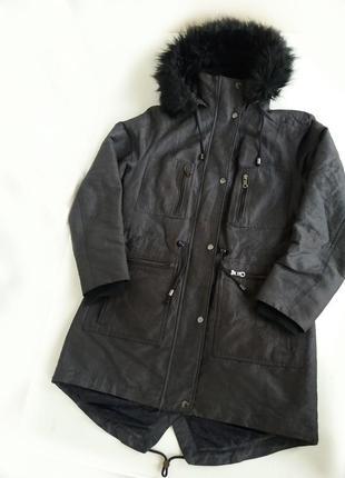 Парка marks s spenser куртка демисезонная / теплая женская зима до 0 пальто