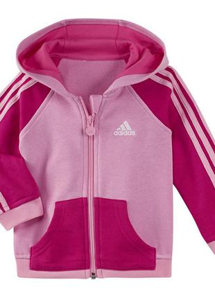Джемпер adidas essentials full zip hoodie lk kids р.80 оригинал