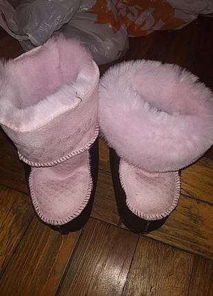 Очень тёплые ботики для малышей ❤️❤️❤️