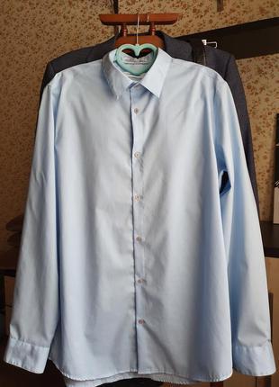 Мужская рубашка calvin klein размер м