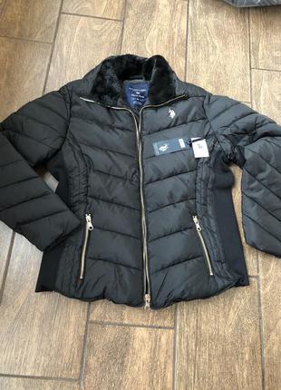 Новая брендовая куртка us polo assn оригинал с бирками осень