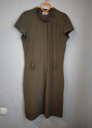Супер качество! платье рубашка миди