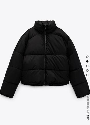 Пуфер zara ,куртка zara нова колекція