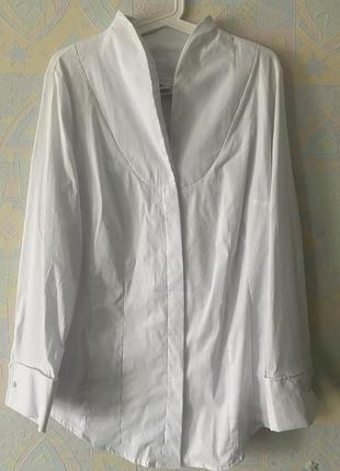 Шикарная трендовая блузка офис широкий манжет