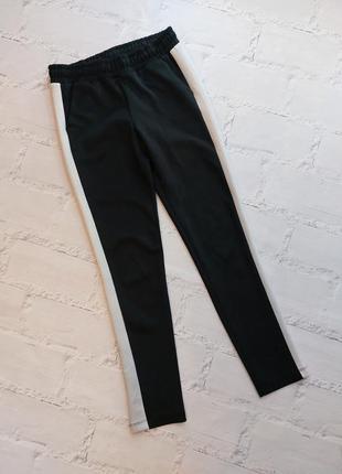 Лосины брюки с лампасами