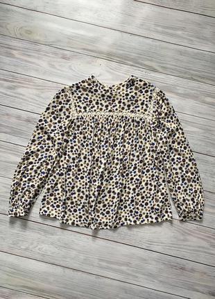 Блуза у принт