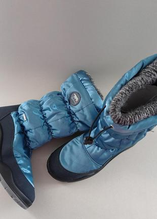 Фирменные оригинал сапоги зимние овчина ботинки