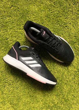 Кожаные кеды кроссовки adidas, размер 40, 25 см