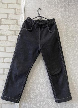 Кюлоты , широкие штаны , джинсы , высокая посадка