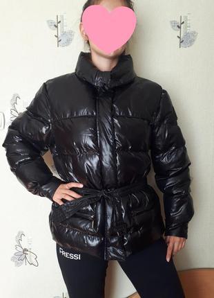 Дутая брендовая куртка