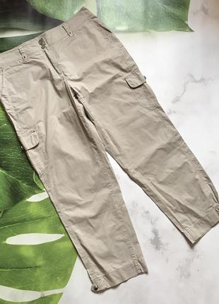 Фирменные брюки штаны в стиле cargo m 42 евро gerry weber. германия.