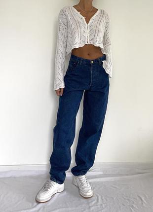 Штаны джинсы винтаж мом бойфренд в стиле levi's lee zara