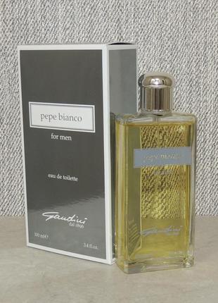 Gandini 1896 pepe bianco for men 100 ml для мужчин оригинал