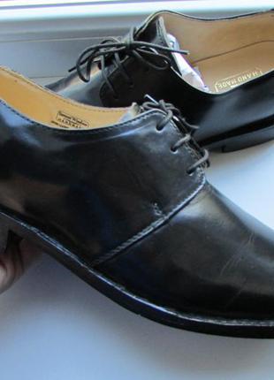 Туфли samuel windsor handmade оригинальные на стопу 27 см