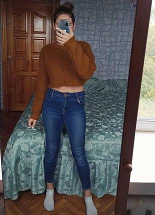 Укороченный свитер new look кофта