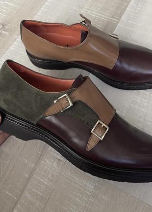 Новые туфли santoni